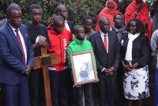 Tempers ran high as former powerful Minister demands justice for slain son