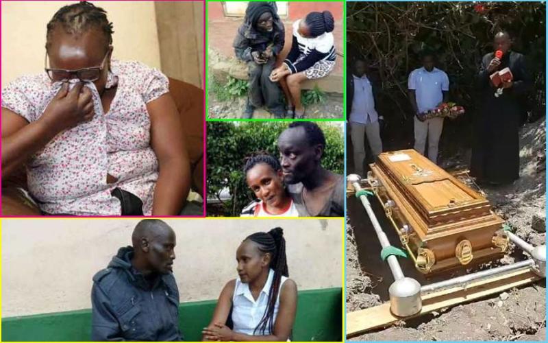 Nancy Wanjiru pays moving tribute to late son Patrick Hinga