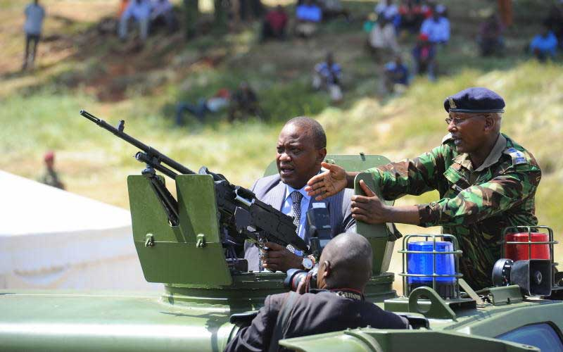 Who is this Mr Cartel disturbing President Uhuru?