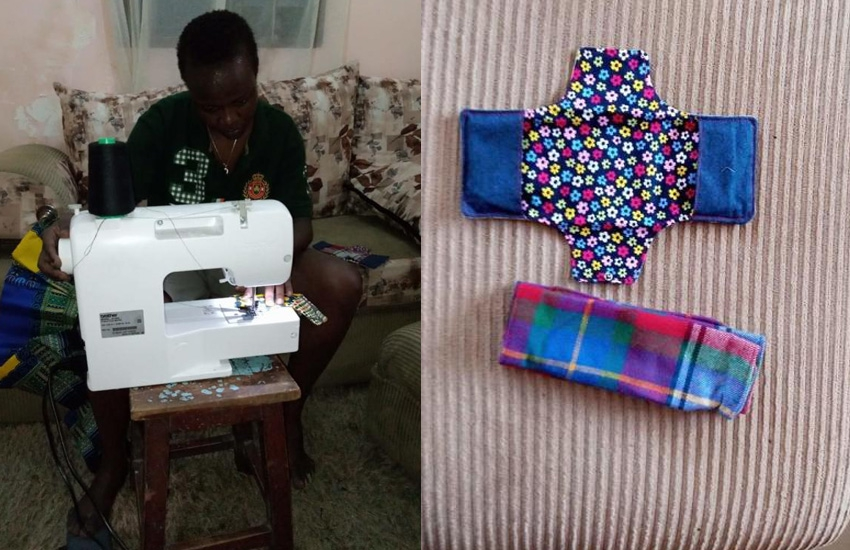 Woman designs pads that can be re-used for up to three years