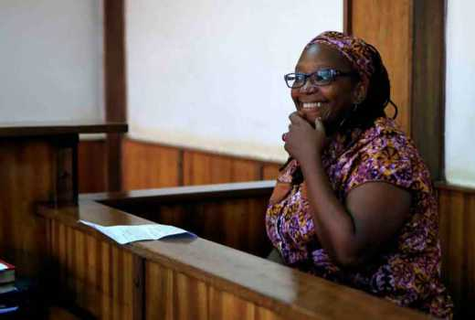 The nude protest of Stella Nyanzi, Ugandas rebel with a cause