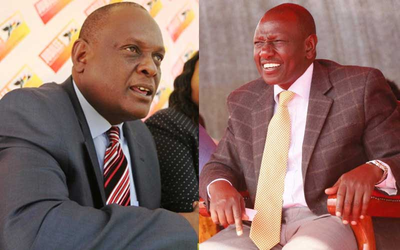 You're not eligible to vie in 2022, David Murathe tells Ruto