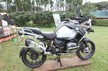 Meet the BMW Motorbike, the biggest in the market and owned by Jean Sabin from Kenya