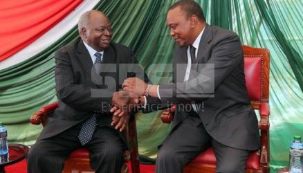 Uhuru embraced the nyayo he criticised