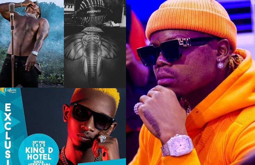 What a week for Harmonize! From betrayal, elephant tattoo, to canceled event