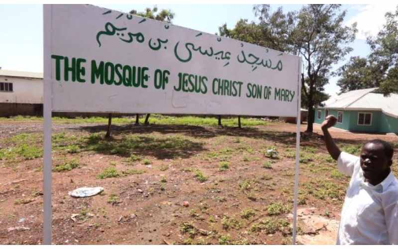 Why Muslim Association has named mosque after Jesus Christ