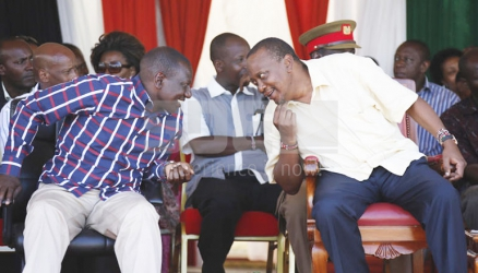 Will scandals rock Jubilee out of power?