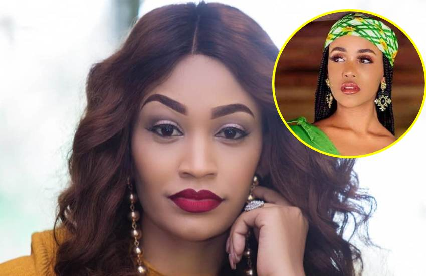Zari fires back at troll, says she is also not after child support cash