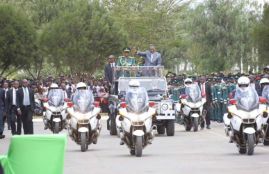 100,000 guests: Preparations start for Uhuru swearing-in ceremony