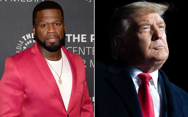 50 Cent blasted after encouraging fans to vote Donald Trump
