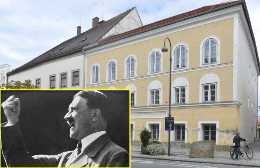 Adolf Hitler birth house in Austria to become police station