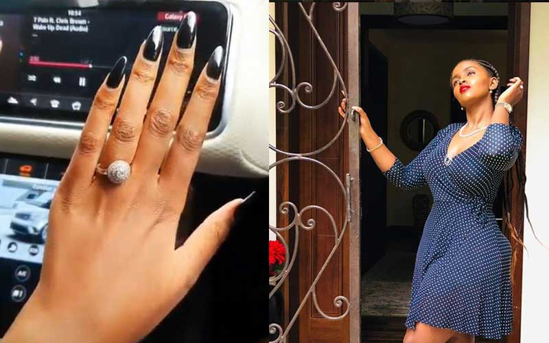 Anerlisa Muigai flaunts expensive wedding ring