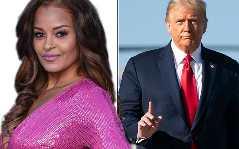 Apprentice star claims Trump twice tried to kiss her while married to Melania