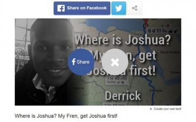 Are you going to 'Canaan?' Humorous Kenyan designs Facebook test for 'those who want to go the land of honey'