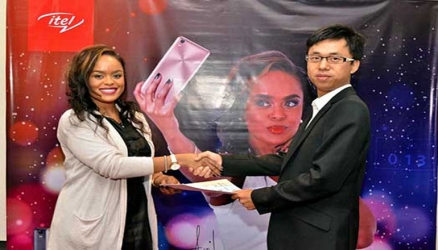 Avril in a lucrative deal with Chinese phone maker