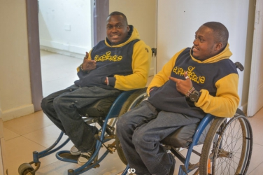The story of Euphorique, the wheelchair-bound DJ who keeps Uhuru on his feet