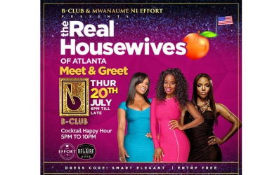 B-Club to host Real Housewives of Atlanta cast