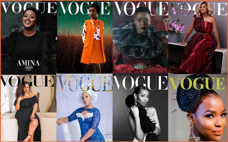 Best of the #VogueChallenge by Kenyan celebrities