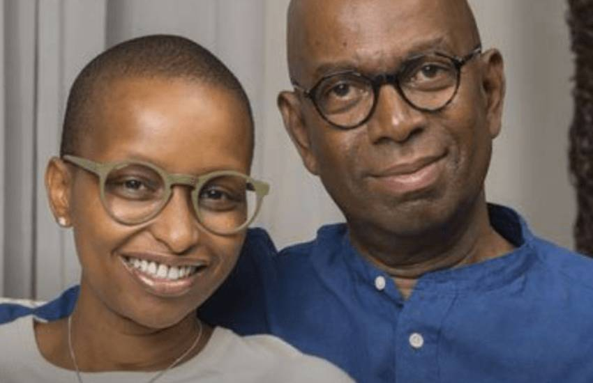 Bob Collymore's widow discloses she lost her sense of smell due to grief