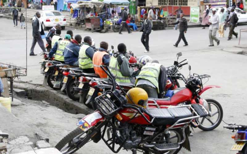 Bodaboda rider shot as he attempts to stop Lavington robbery