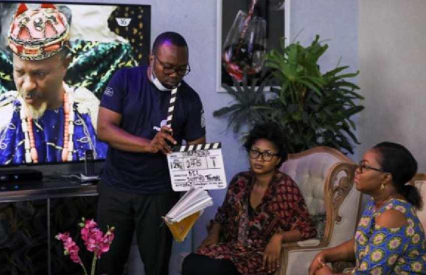 Cameras roll again in Nollywood but Nigeria's cinemas still dark