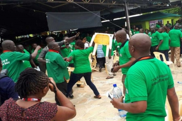 Chaos erupts at Knut conference as delegates clash over Sossion