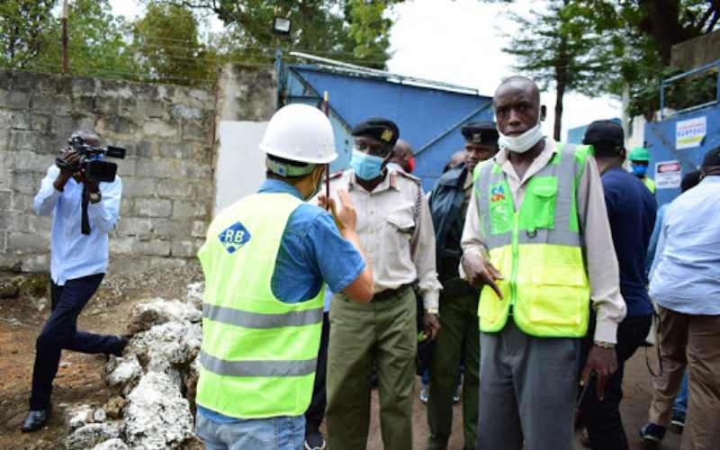 Chinese man stops CAS Wavinya Ndeti from inspecting project