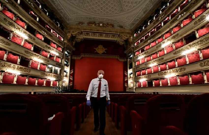 Coronavirus sweeps through Milan's La Scala opera house