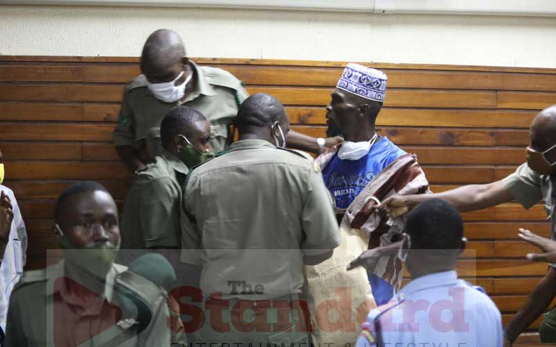 Court drama as suspect attempts to attack magistrate for the second time