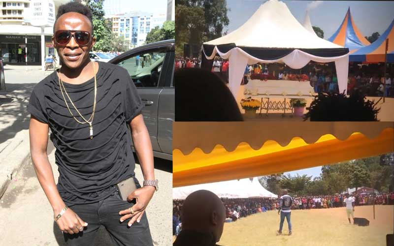 Daddy Owen's message as hundreds show up for Papa Dennis' burial