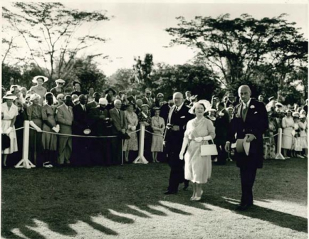 Queen Elizabeth's visit to Kenya in 1959