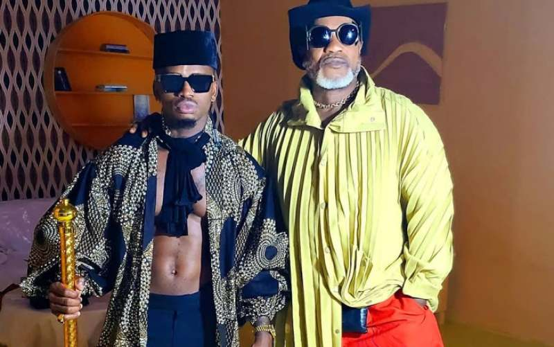 Diamond Platnumz reveals challenges he faced shooting 'Waah' with Koffi
