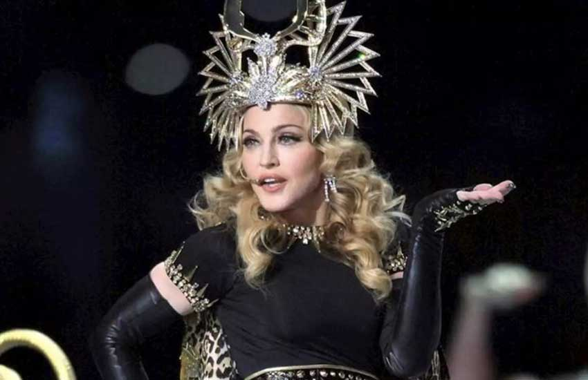 Don't cry for me Portugal - Injured Madonna cancels show