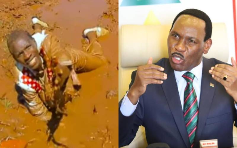 Ezekiel Mutua raises concern over Embarambamba's safety following singer's extreme performance stunts