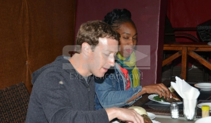 Facebook founder Mark Zuckerberg is in Kenya and Mama Oliech's fish is all he wants