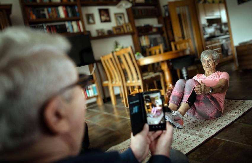 German woman becomes TikTok fitness star at 81