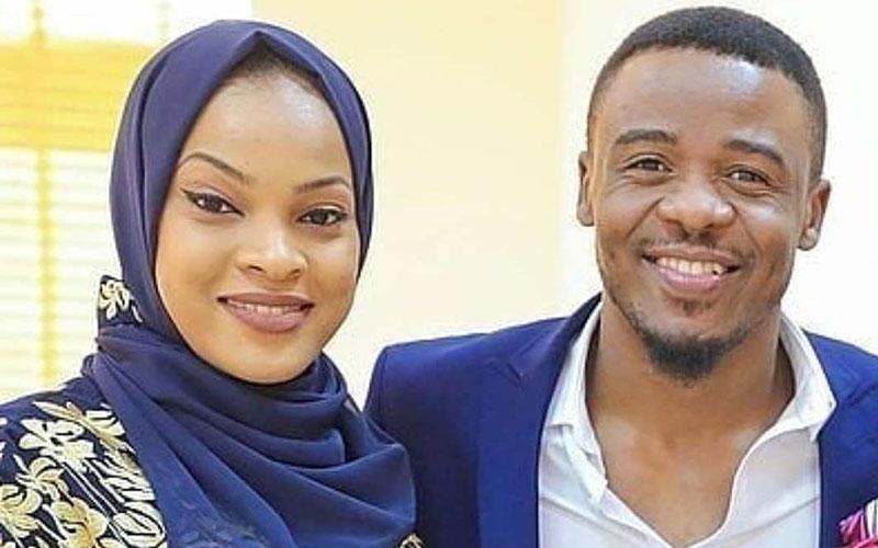 How Ali Kiba's wife  Amina deals with critics