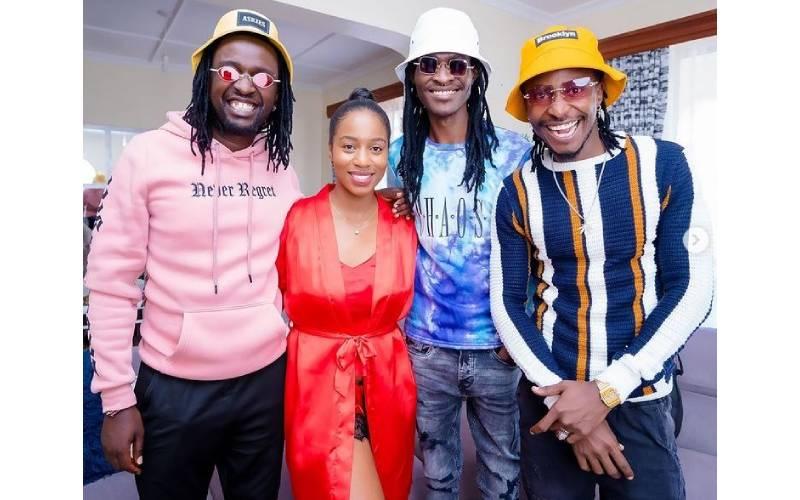 How Bahati paid H_art the Band to surprise Diana Marua