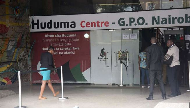 How to book an appointment at Huduma centre