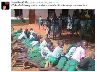 Tabia Za Primary: Kenyans pay tribute to their peculiar habits in primary school