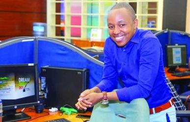 I make Sh1 million a month: Meet the man behind hilarious Safaricom comebacks on social media