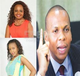 """I was never a co-wife to Cecilia Mwangi""- News anchor Mwanaisha Chidzuga shuts down rumours"