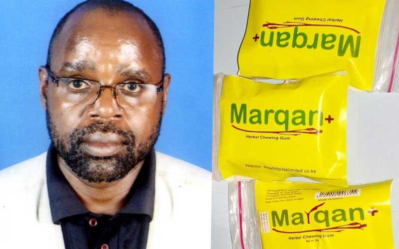 Innovation: Chewing gum made from miraa causes stir