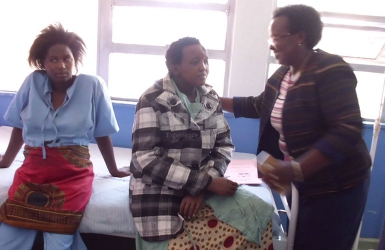 It's a boy! Jackeline Mwende,woman butchered for barrenness, welcomes baby at Machakos Level 5 Hospital