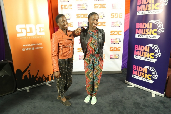 The Finalist of the Bidii Music Talent Search