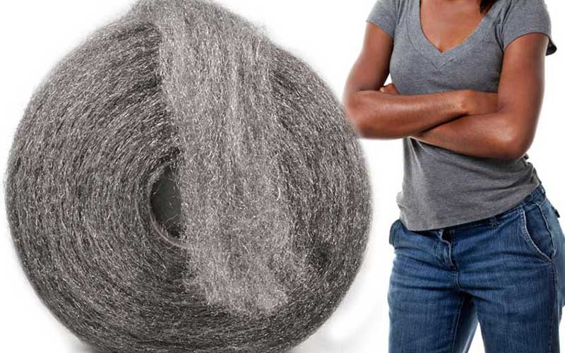 Jilted wives fattening their men with steel wool