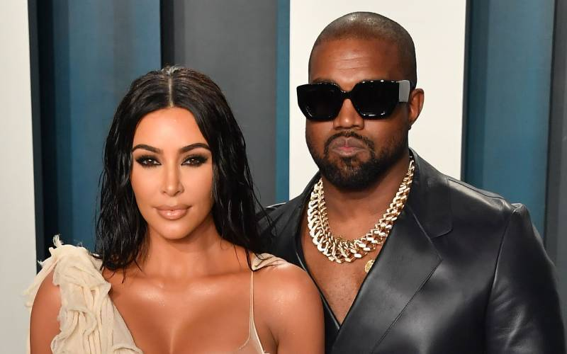 Kanye West declares his love to Kim Kardashian on her 40th after 'divorce talks'