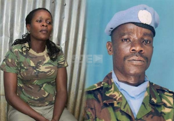 KDF widow crying for husband's cash