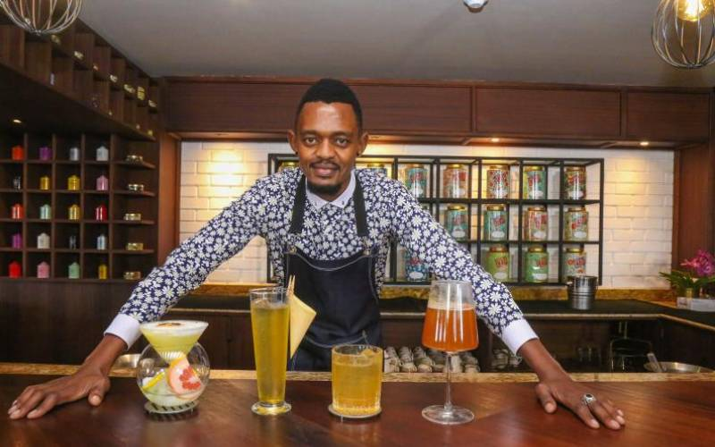 Kelvin Thairu unveiled as world class bartender of the year