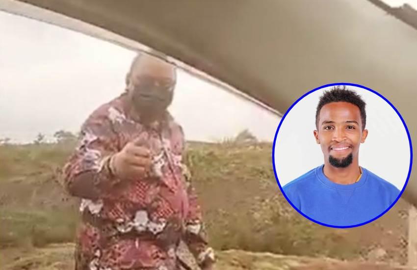 """Kenyans criticise Tokodi for asking Uhuru to watch Selina; """"I'm unfazed,"""" actor shoots back"""